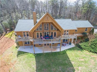 Lumpkin County Single Family Home For Sale: 185 Mountain Laurel Ridge