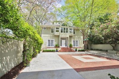 Atlanta Single Family Home For Sale: 1651 N Pelham Road NE