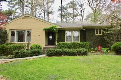 Single Family Home For Sale: 1116 Citadel Drive NE