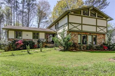 Dunwoody Single Family Home For Sale: 3505 Dunwoody Club Drive