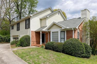 Brookhaven Single Family Home For Sale: 1172 Alexandria Court NE