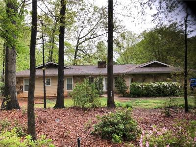 Lilburn Single Family Home For Sale: 1256 Lake Lucerne Road