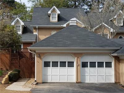 Marietta Condo/Townhouse For Sale: 741 Olde Towne Lane