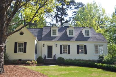 Peachtree Park Single Family Home For Sale: 3083 Dale Drive NE