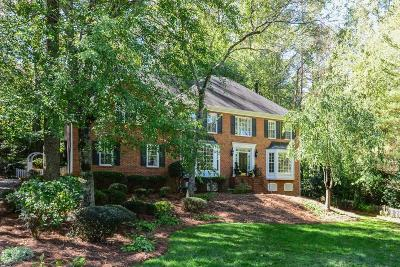 Single Family Home For Sale: 343 Lands Mill SE