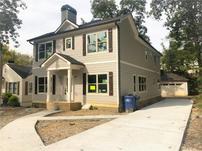 Single Family Home For Sale: 2668 Memorial Drive SE