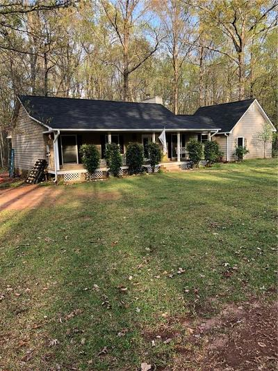 Griffin Single Family Home For Sale: 286 Clark Road