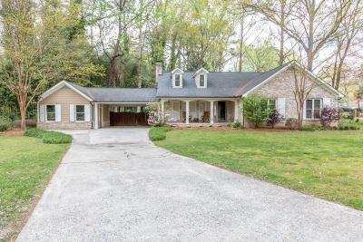 Atlanta Single Family Home For Sale: 1406 Brook Valley Lane NE