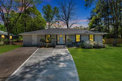 Alpharetta Single Family Home For Sale: 204 Brooke Drive