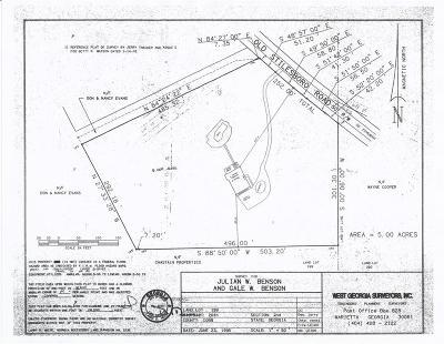 Kennesaw Land/Farm For Sale: 3755 Old Stilesboro Road NW