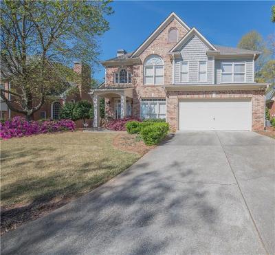 Smyrna Single Family Home For Sale: 3214 Millwood Trail SE