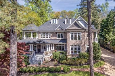 Atlanta GA Single Family Home For Sale: $2,595,000