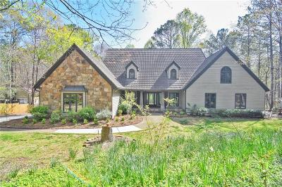 Roswell Single Family Home For Sale: 11805 Mountain Park Road