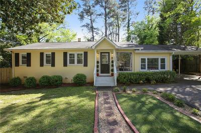Brookhaven Single Family Home For Sale: 1333 Victor Road NE