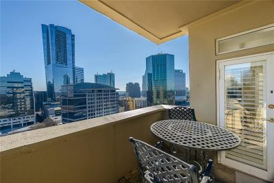 Condo/Townhouse For Sale: 3334 Peachtree Road #1612