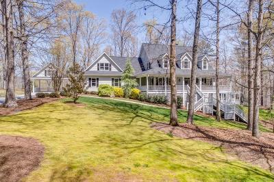 White Single Family Home For Sale: 240 Sutalle Ridge Lane