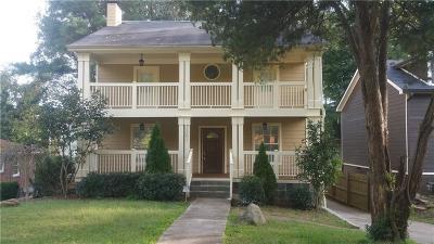 Single Family Home For Sale: 2201 Hosea L Williams Drive SE