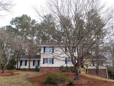 Roswell Single Family Home For Sale: 4840 Kings Wood Drive NE
