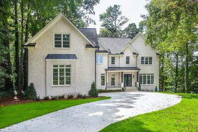 Sandy Springs GA Single Family Home For Sale: $1,749,000