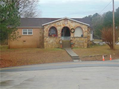 Adairsville Single Family Home For Sale: 771 Erwin Hill Church Road SE