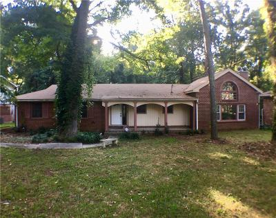 Single Family Home For Sale: 541 Collier Ridge Drive NW