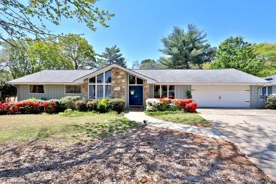 Roswell Single Family Home For Sale: 130 Bent Grass Drive
