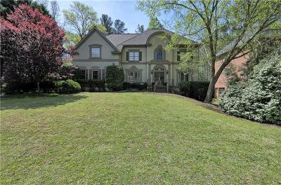 Alpharetta Single Family Home For Sale: 9345 Nesbit Lakes Drive