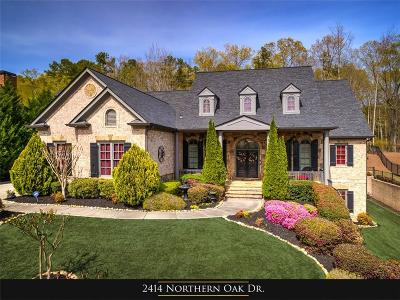 Braselton Single Family Home For Sale: 2414 Northern Oak Drive