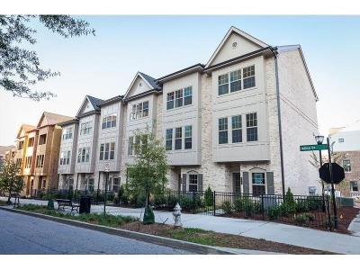 Atlanta Condo/Townhouse For Sale: 539 Broadview Place NE #39