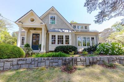 Single Family Home For Sale: 1715 Flagler Avenue