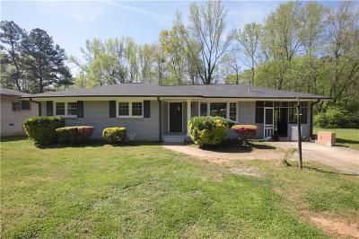 Single Family Home For Sale: 1821 Rollingwood Drive SE