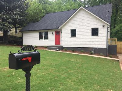 East Atlanta Single Family Home For Sale: 1371 Lochland Road SE