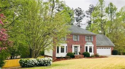 Kennesaw Single Family Home For Sale: 3291 Brackenridge Trail