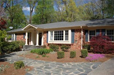 Single Family Home For Sale: 4323 Mount Paran Parkway