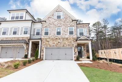 Alpharetta GA Condo/Townhouse For Sale: $557,900