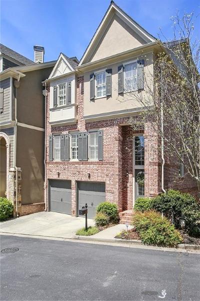 Brookhaven Condo/Townhouse For Sale: 1339 Village Park Drive NE