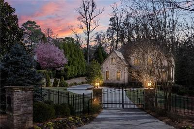 Sandy Springs GA Single Family Home For Sale: $1,999,900