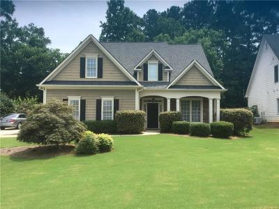 Acworth Single Family Home For Sale: 4506 NW Amysaye Walk NW