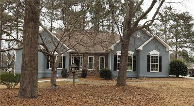Powder Springs Single Family Home For Sale: 3284 Rusty Run