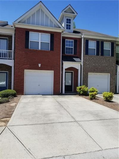 Lawrenceville Condo/Townhouse For Sale: 2242 Hawks Bluff Trail