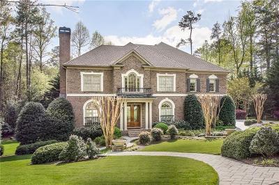 Sandy Springs Single Family Home For Sale: 8166 Hewlett Road