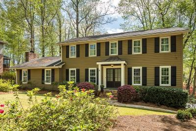 Dunwoody Single Family Home For Sale: 1435 Withmere Lane