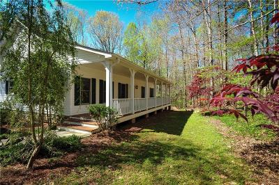 Ball Ground GA Single Family Home For Sale: $330,000