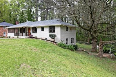 Smyrna Single Family Home For Sale: 1080 Oakdale Drive SE