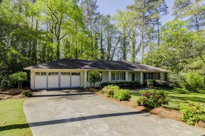 Atlanta Single Family Home For Sale: 1827 Mount Brian Road NE