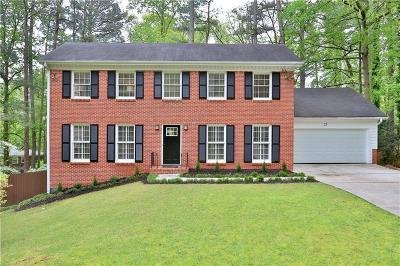 Sandy Springs Single Family Home For Sale: 25 Brandon Ridge Drive