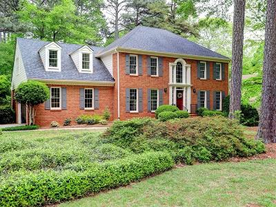 Marietta Single Family Home For Sale: 653 Bostic Hill Court SE