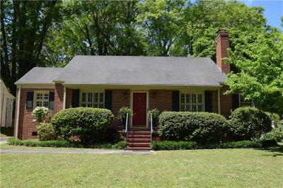 Griffin Single Family Home For Sale: 57 E Terracedale Court