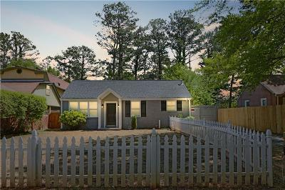 Decatur Single Family Home For Sale: 682 Quillian Avenue