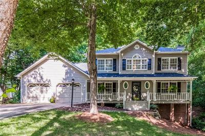 Kennesaw Single Family Home For Sale: 3015 Wrens Way